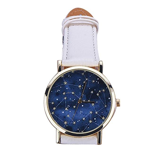 Amazon.com: Reloj inteligente para mujer elegantFIYNight Sky ...