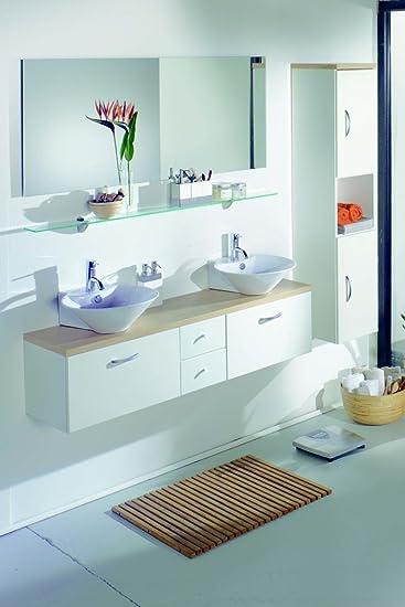 komplettes Badezimmer m. 2 Waschbecken: Amazon.de: Küche & Haushalt