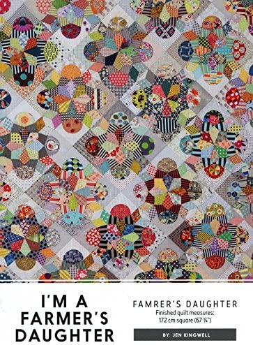 I/'m a Farmers Daughter Jen Kingwell Designs Quilt Pattern w// Acrylic Templates