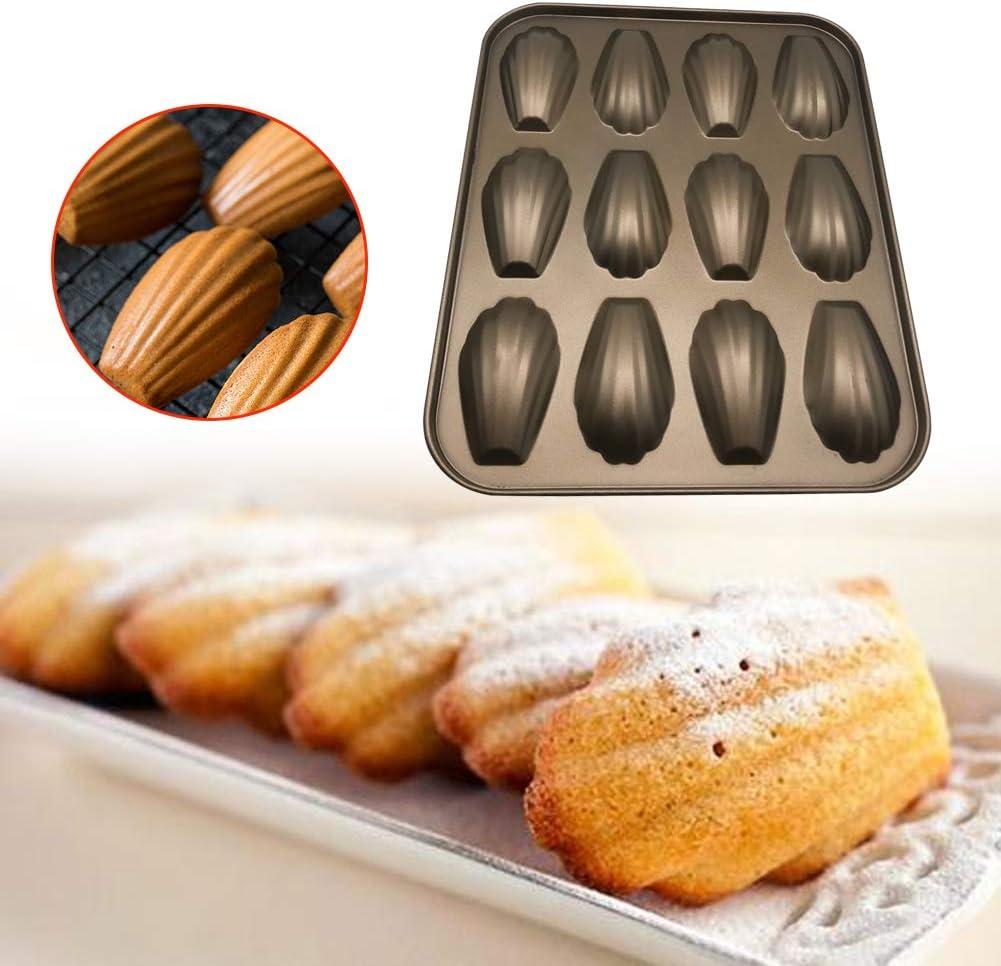 Forme de coquille Pan en acier carbone de Pâtisserie Moule Gâteau Pan SA