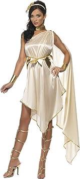 NET TOYS Disfraz Antiguo de Diosa Griega Vestido túnica Romana ...