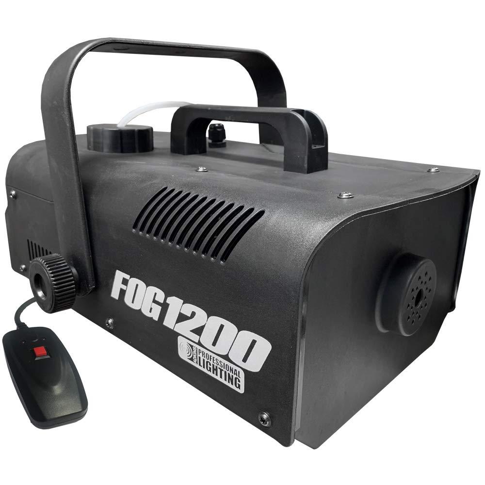 Fog Machine - 1200 Watt W/Remote - Impressive 8,000 Cubic ft. per minute - Adkins Professional Lighting FOG1200