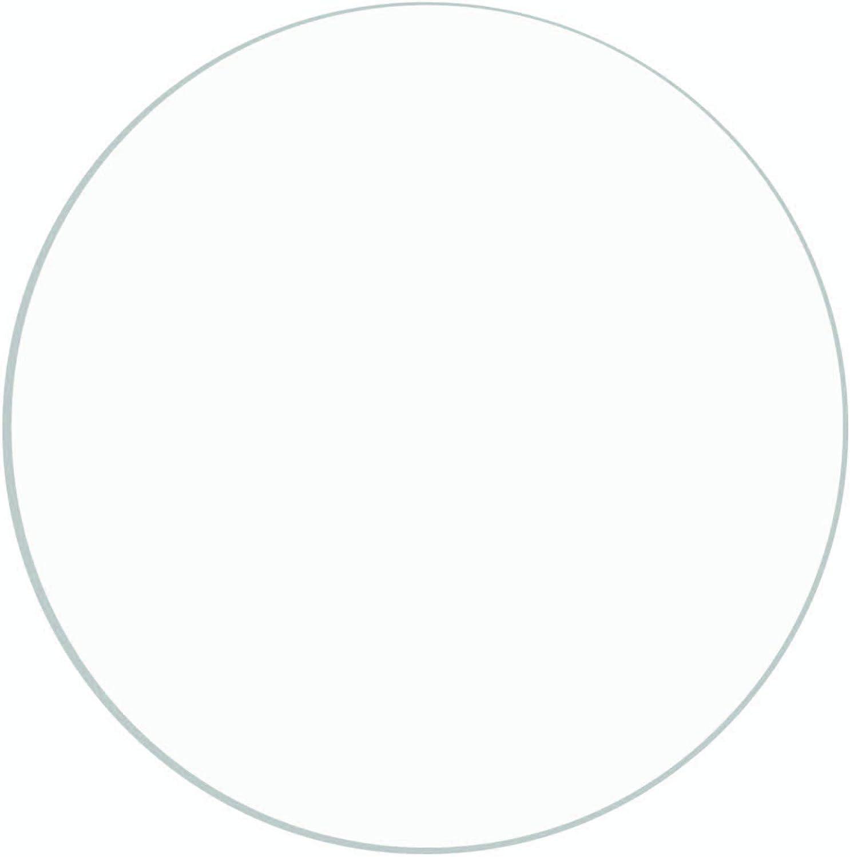 "1//16/"" x 7/"" Circle Plexiglass Circle Clear 1pc Acrylic Plastic"