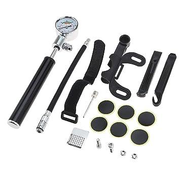 Mini Bomba de Bicicleta, Kit de reparación de neumáticos para ...