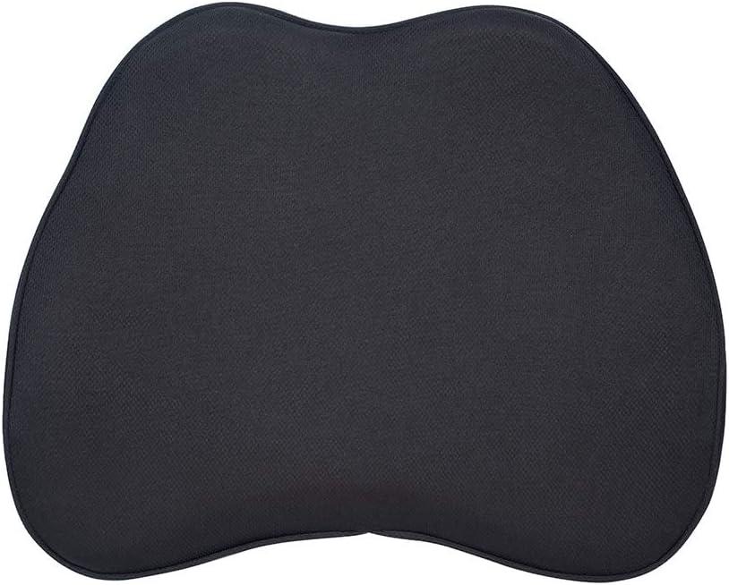 AmazonBasics Memory Foam Lumbar Support Pillow - Black