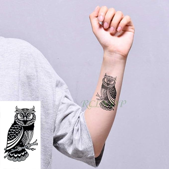5pcs Etiqueta engomada del Tatuaje a Prueba de Agua Black Devil no ...