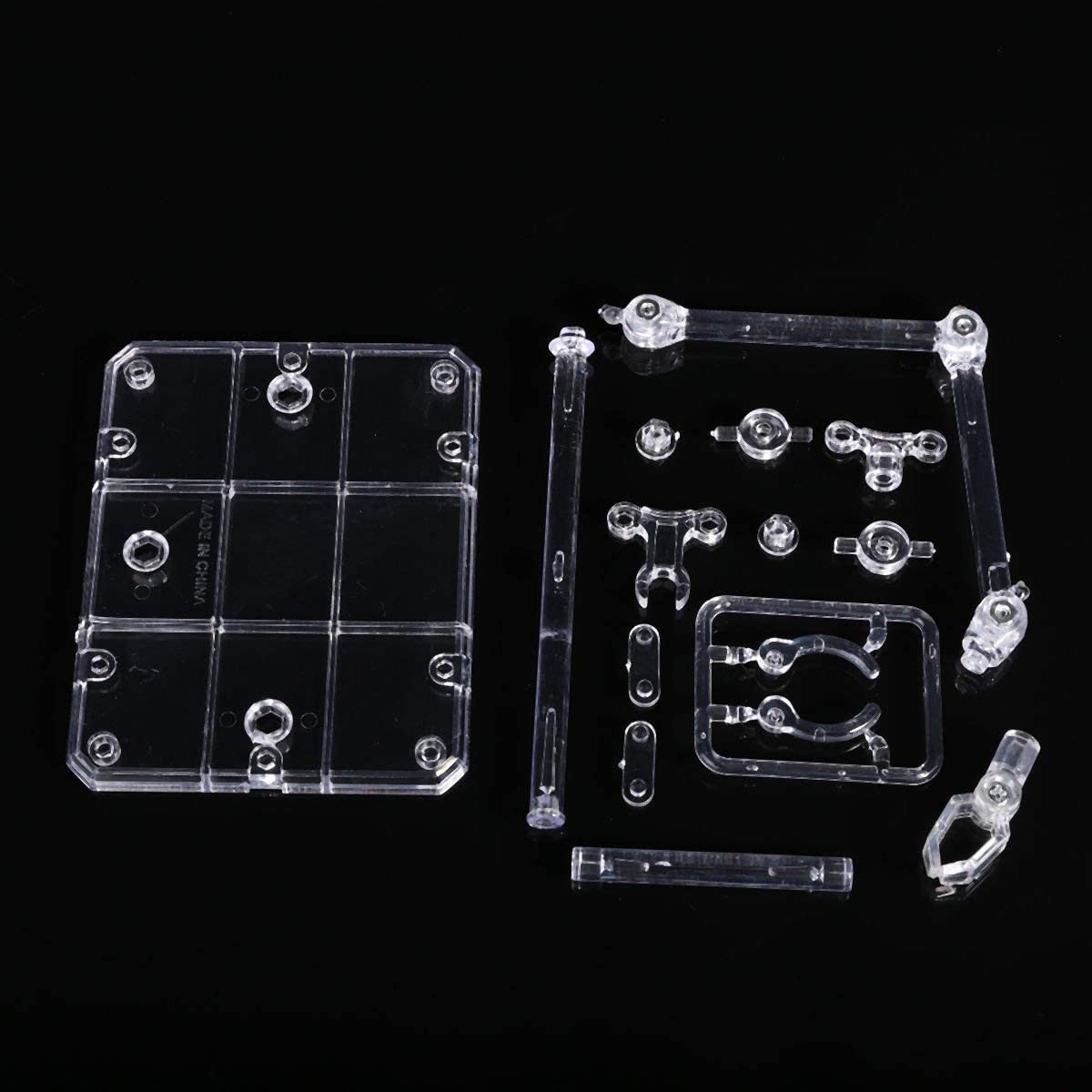 Base Suitable Display Stand Clear For 1:144 HG Gundam Figure Model Toy M6U8