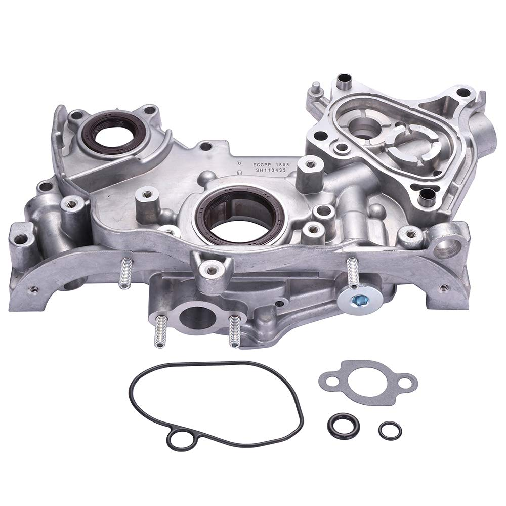 ECCPP Engine Oil Pump M232 028-0411 Fit for 1997-1999 Acura CL, 1994-2002 Honda Accord, 1995-1998 Honda Odyssey, 1992-1996 Honda Prelude, 1996-1999 Isuzu Oasis 113433-5211-1549154971