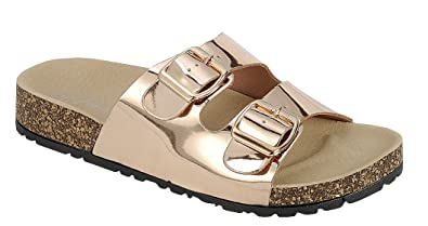 0d69fda743b2 Forever Women s Flat Slip on Casual Sandals-11