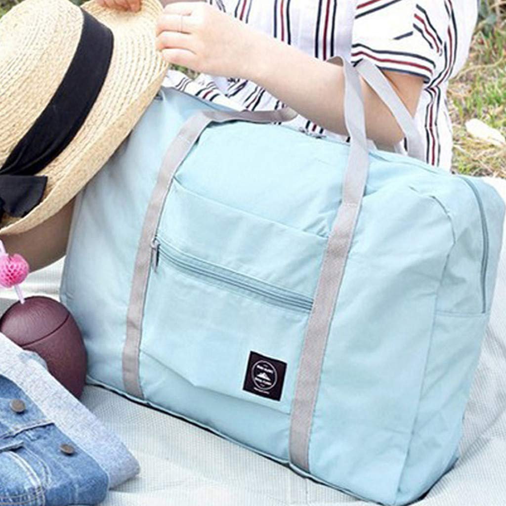 Mysky Large Capacity Fashion Travel Bag for Man Women Bag Travel Carry on Luggage Bag