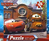 Disney Pixar Cars 48pc Jigsaw Puzzle - (Lightning Booted by Tow Truck)