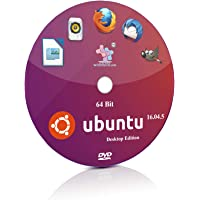 Ubuntu 16.04.5 Unity 64 Bit Live Bootable Installation DVD