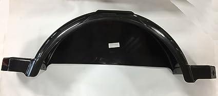 9 Inch Shorelander 6199603 Right Side Black Poly Trailer Fender