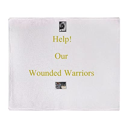 89e31cda5bd4e Image Unavailable. Cafepress Wounded Warrior Soft Fleece Throw Blanket 50  -  Source