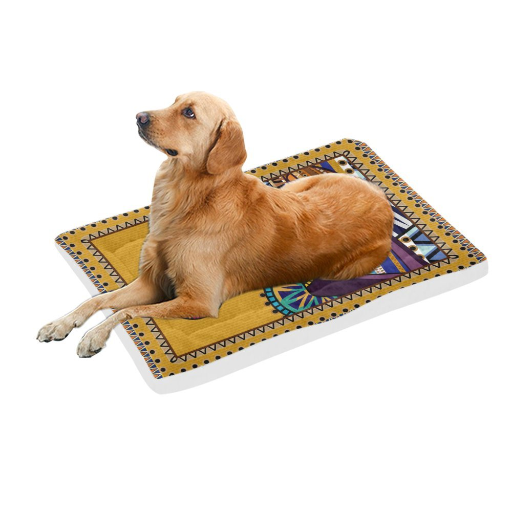 42\ your-fantasia An African Woman in Traditional Costume Pet Bed Dog Bed Pet Pad 42 x 26 inches