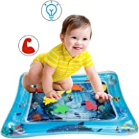 """SNOWIE SOFT Baby Inflatable Water Cushion, Inflatable Infant Baby Water Mat Patted Pad - Fun Activity Play Center for Children Kids 19.7"""" x 23.6"""""""