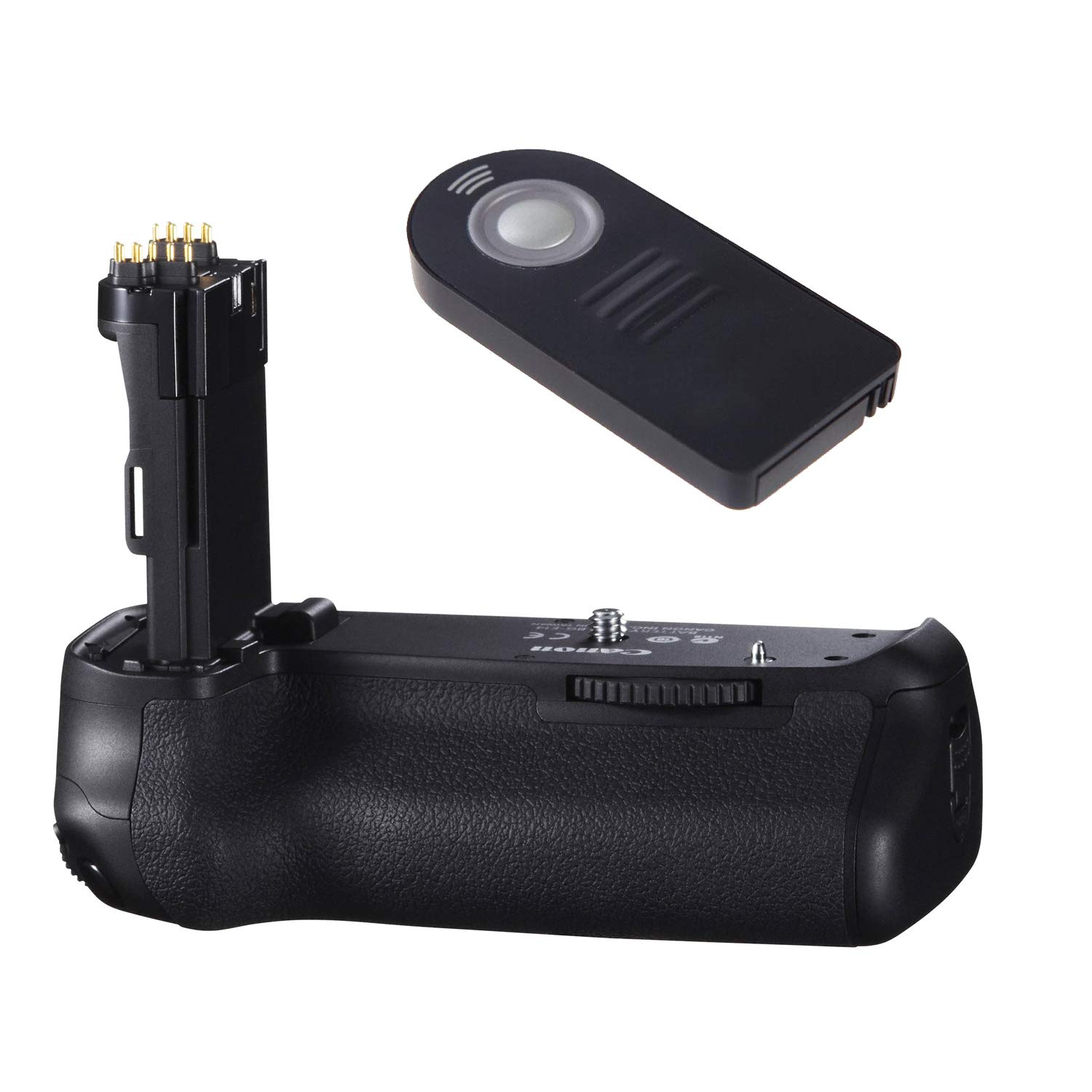Canon BG-E14 Battery Grip for Canon EOS 70D and 80D DSLR Cameras with Wireless Shutter Release Remote