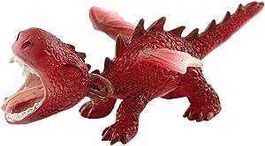 Top Collection Miniature Fairy Garden and Terrarium Mini Red Dragon Roaring Figurine