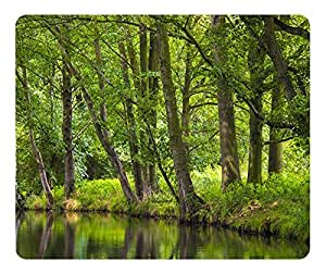 The Spreewald Tranquility Mouse Pad Desktop Mousepad Laptop Mousepads Comfortable Computer Mouse Mat Cute Gaming Mouse pad by icecream design