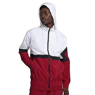 101217d53734 Nike Men s Jordan Sportswear Diamond White Red AQ2683-100 (Size  M ...