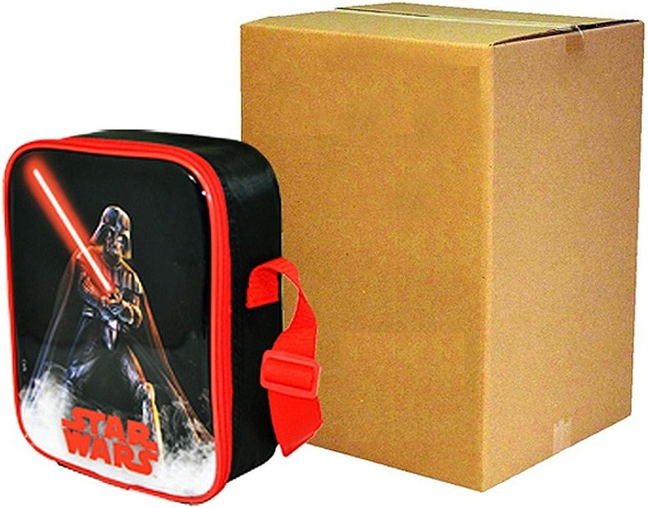 Star Wars - Pack de 3 fiambreras infantiles (Talla Única/Negro/Rojo): Amazon.es: Ropa y accesorios