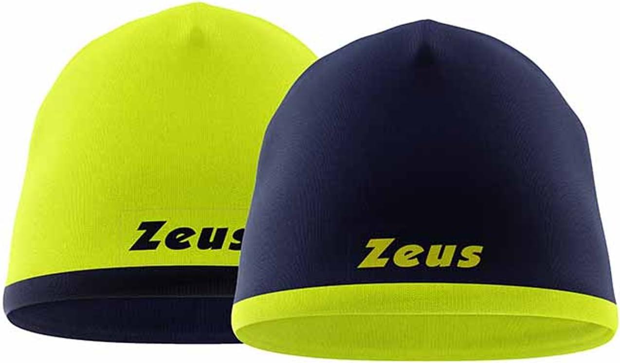 Zeus ZUCCOTTO BIKOLOR Reversibile Cappellino Double-Face Passeggio Weekend Freetime