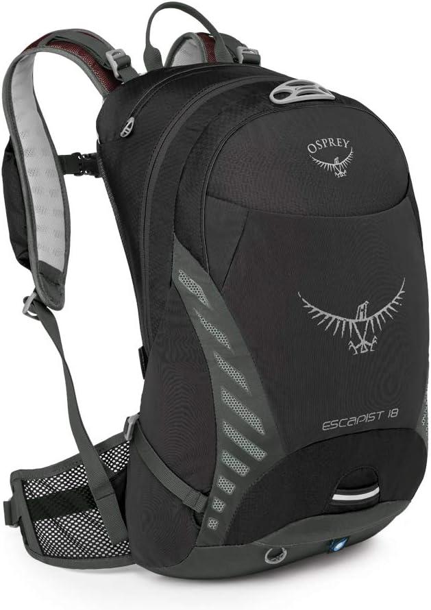 M//L Osprey Escapist 18 Mens Multi-Sport Pack Black