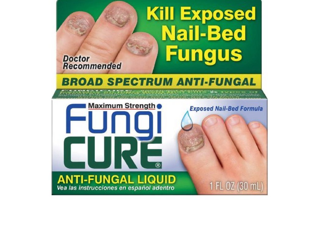 Fungicure Anti-Fungal Liquid - 1 oz (2 pack)