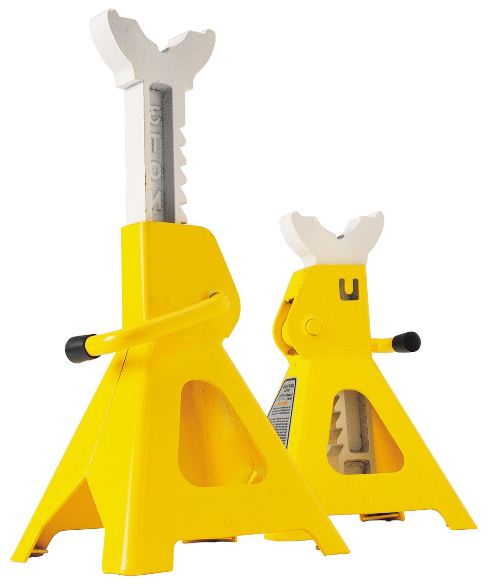 Performance Tool W41023 6 Ton (12,000 lbs.) Capacity Heavy Duty Jack Stand set
