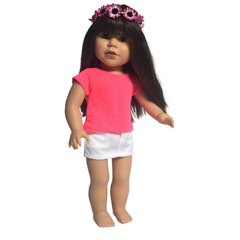 Baby Born Zapf Creation Poloshirt T-Shirt Farbe Rosa Spielzeug Puppe Babypuppen & Zubehör