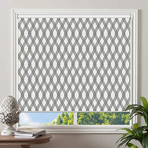 PASSENGER PIGEON Blackout Window Shades, Premium UV Protection Water Proof Custom Roller Blinds, Printed Picture Window Roller Shade, 94 W x 94 L, JIHE-19