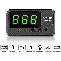 VJOYCAR C60s Universal Digital GPS Speedometer Car Hud Head Up Display with MPH Speed Alert Fatigue Driving Alarm, 100…