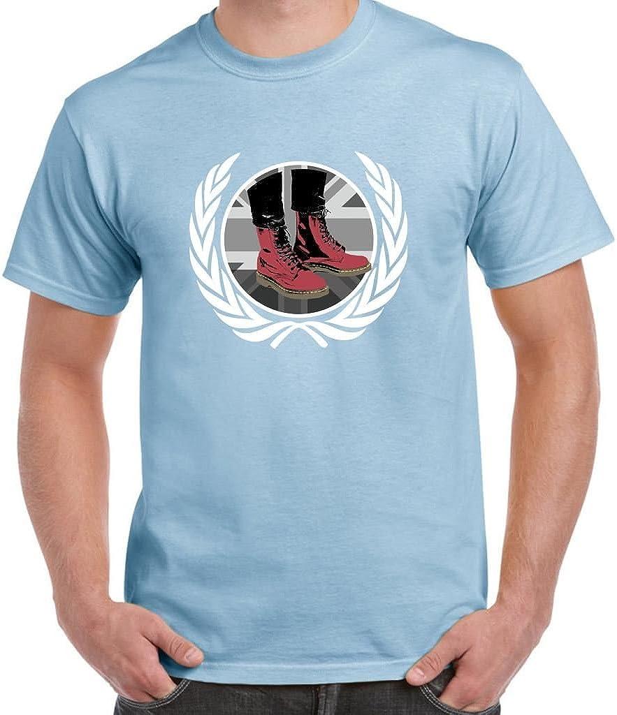 Skinhead Docs T-Camiseta de Manga Corta para Hombre: Amazon.es: Ropa y accesorios