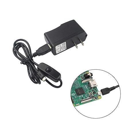 Amazon.com: mfh-d 5 V/2.5 A adaptador Fuente de alimentación ...