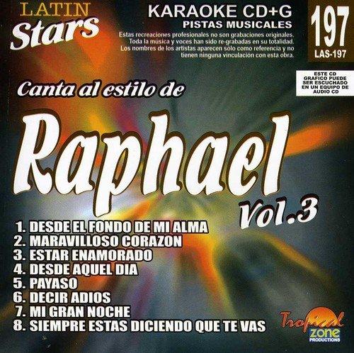 Raphael - Karaoke: Raphael, Vol. 3 - Latin Stars Karaoke (CD)