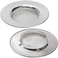 Filtres à évier en acier inoxydable Un ensemble de deux pieces (7.7 CM)