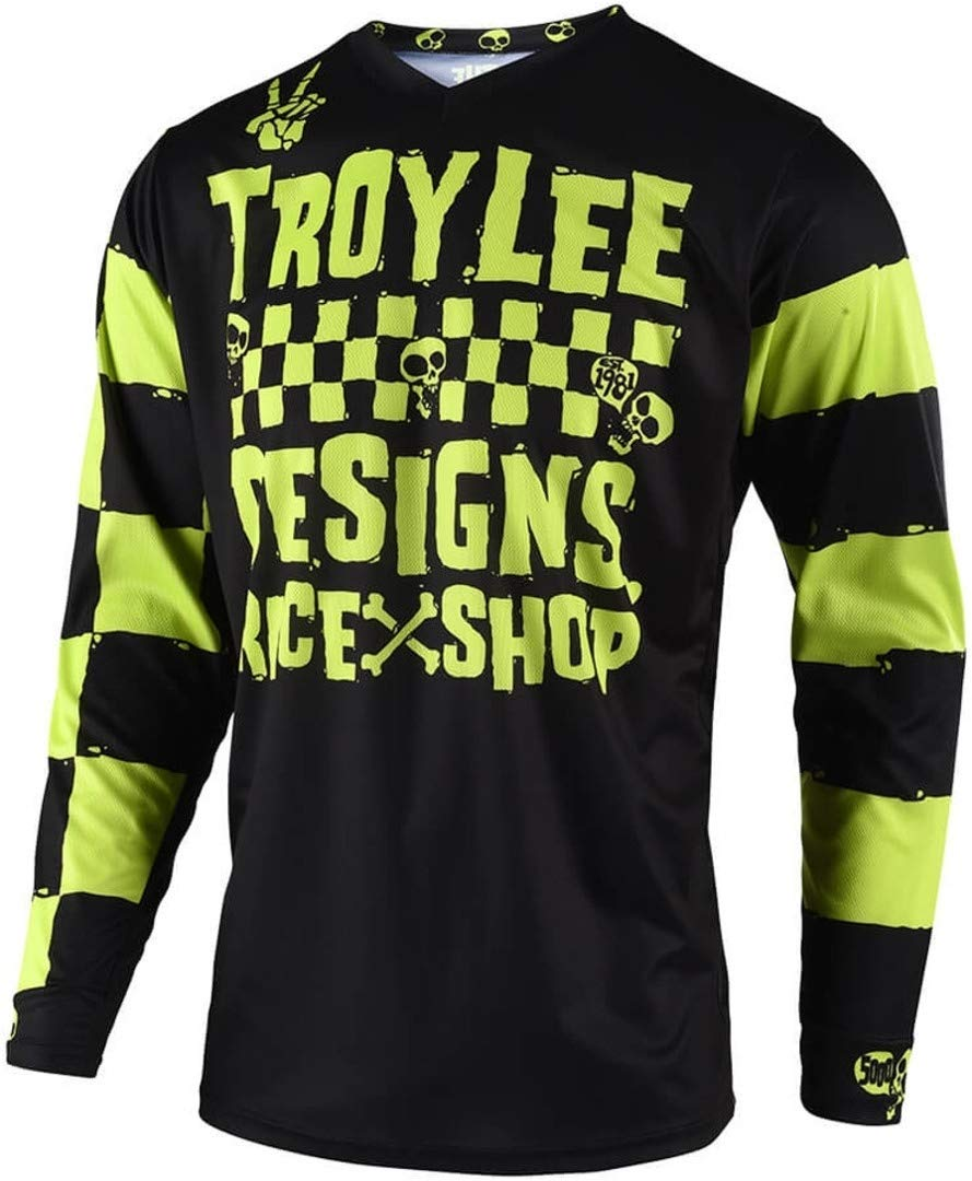 Troy Lee Designs 2019 Youth GP Jersey - Race Shop 5000 (X-SMALL) (LIME) 309667001