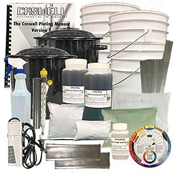 Aluminum anodizing kit amazon car motorbike aluminum anodizing kit solutioingenieria Image collections