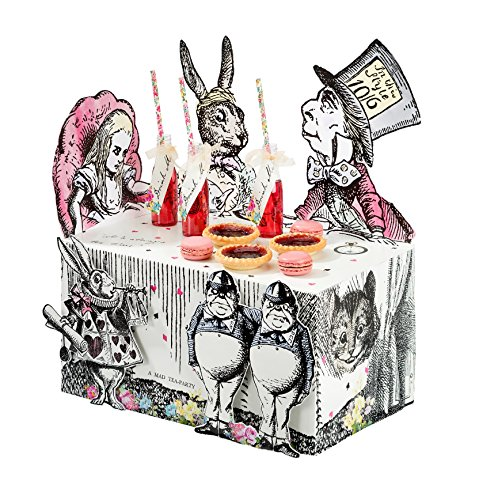 Talking Tables Alice In Wonderland Party Supplies | Table Centrepiece | Great For Mad Hatter Tea Party, Birthday Party And Baby Shower | Paper]()
