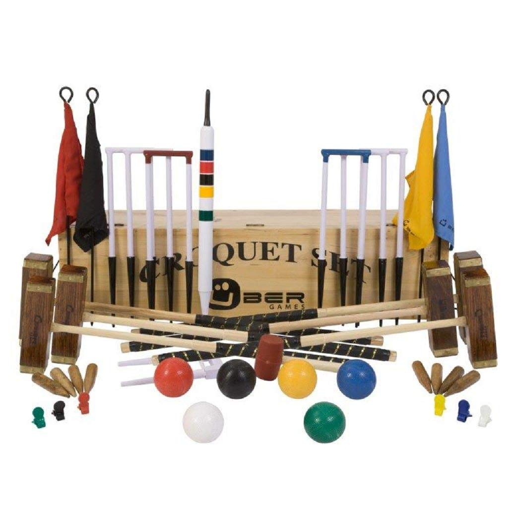 oferta especial Uber Championship 6 Jugarer Croquet Set with with with a Wooden Box  ahorra 50% -75% de descuento
