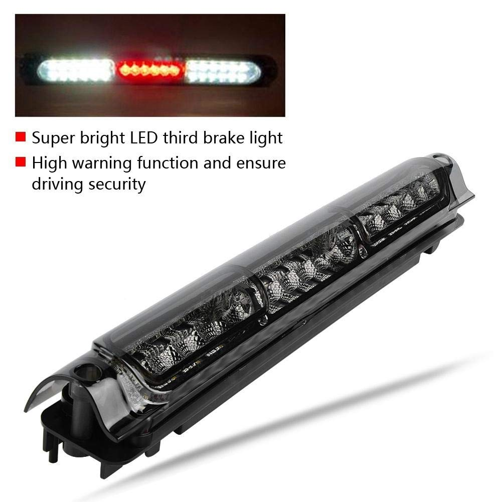 1 PC of Third Third Brake LED Light Lampe f/ür Ford F-150 F-250 97-03 Exkursion Outbit Third Brake Light Black /& Smoke und Chrome /& Smoke Farbe : Black+Smoke
