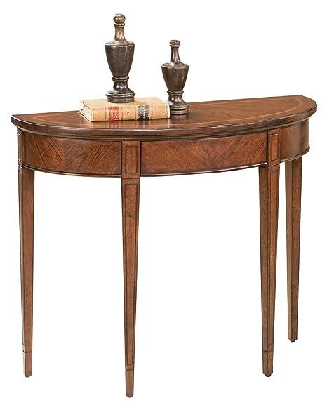 Amazon.com: WOYBR 1533024 Plantation Cherry Demilune Console Table ...