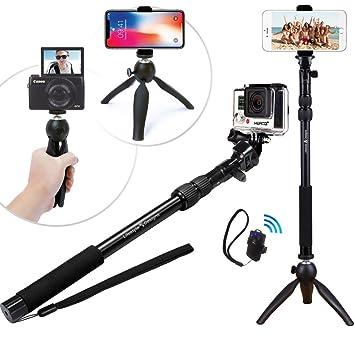 Selfie-stöcke 2019 Mode Erweiterbar Selfie Stick Für Gopro Faltbare Handheld Gopro Selfiestick Mit Adapter Universal Tragbare Einbeinstativ Für Gopro Kamera