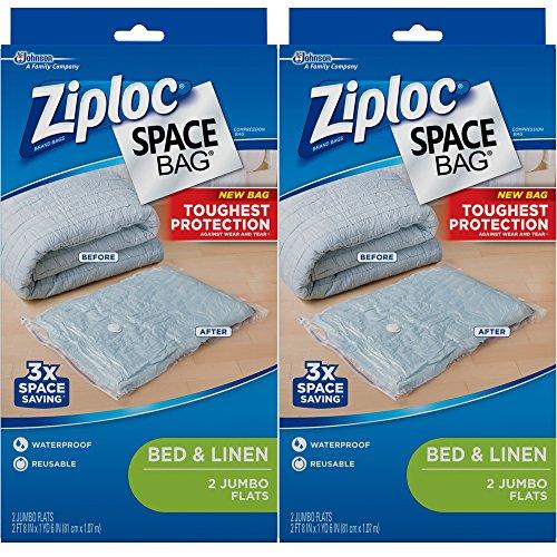 ziploc storage bags vacuum jumbo - 6