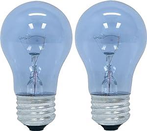 GE Lighting 48706 40-Watt Reveal A15 Appliance Bulb, 2-Card