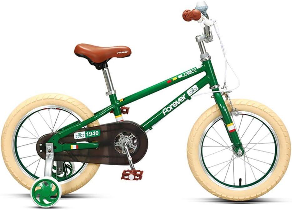 Axdwfd Infantiles Bicicletas Freestyle para niños, niñas y niñas en bicicleta, con chasis de acero Hi-Ten, con engranajes BMX, bicicletas para niños con 85% ensamblado, tamaños de rueda de 14/16 pulga: Amazon.es: