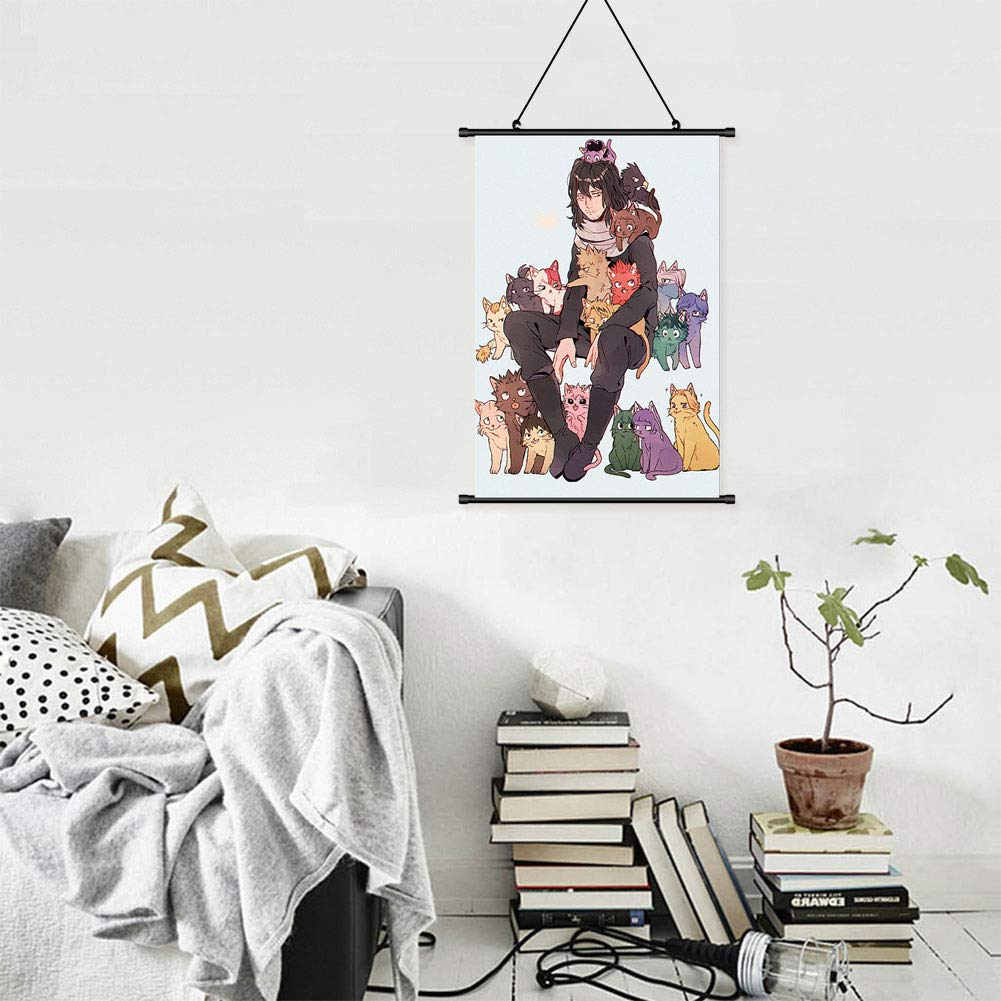 Boku no Hero Academia 21 * 30cm Beautymei Anime My Hero Academia Characters Home Decor Poster Wall Scroll Hanging Painting