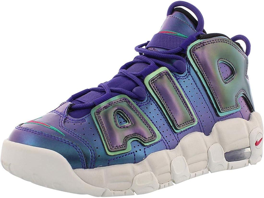 Lijadoras medio pasillo  Amazon.com | Nike Kids Air More Uptempo SE GS, Court Purple/Rush Pink,  Youth Size 7 | Basketball