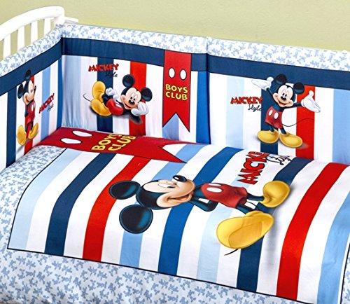 Paracolpi E Piumone Disney.Trapunta Lettino Con Paracolpi Topolino Amazon It Prima Infanzia