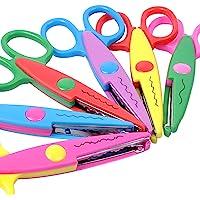 Decorative Paper Edge Scissors for Kids Crafts Scrapbooking